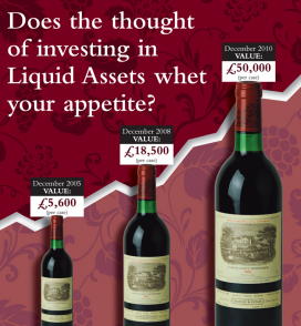 Advertising investing in wine