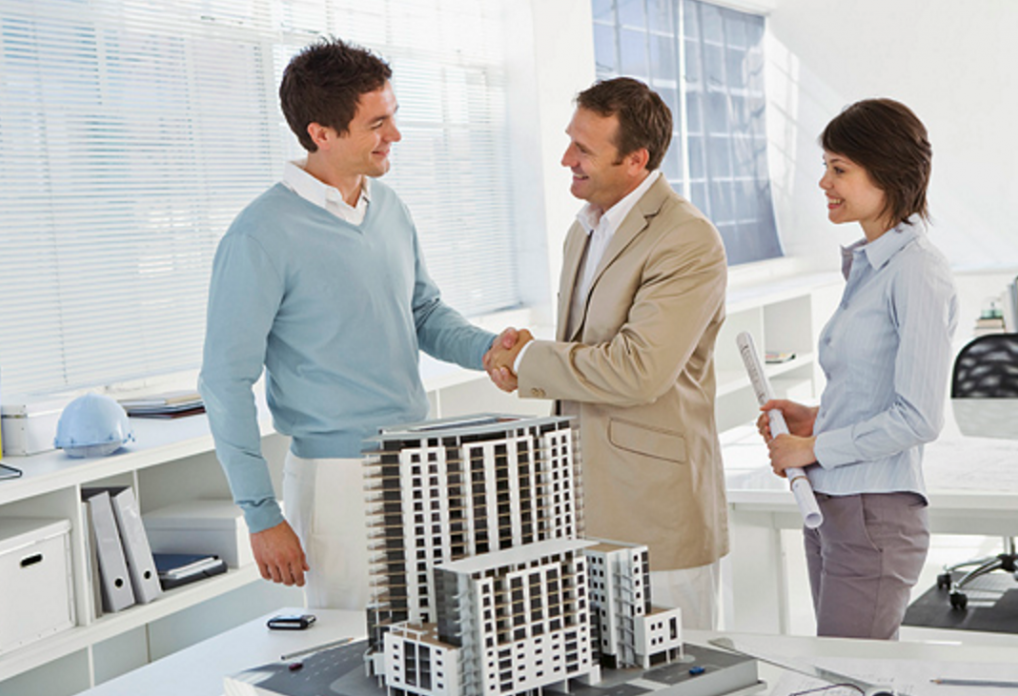 Make a deal with a real estate developer