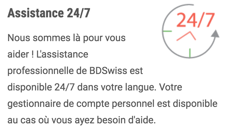 BDswiss excellent customer service contact